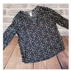 H&M Floral top- Small